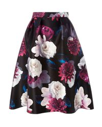 Dorothy Perkins - Multicolor Luxe Multi Coloured Floral Print Prom Skirt - Lyst