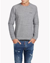 DSquared² | Gray Muscle Fit Sweatshirt for Men | Lyst