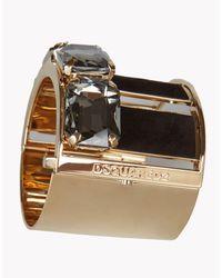 DSquared² - Metallic Smart Strass Armlet - Lyst