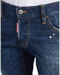 DSquared² | Blue Slim Jeans for Men | Lyst