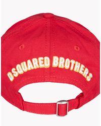 DSquared² - Multicolor Caten Baseball Cap for Men - Lyst