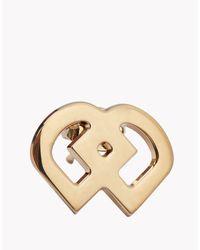 DSquared² - Metallic Dd Earrings - Lyst