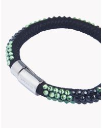 DSquared² - Black Sparkle Tech Armlet - Lyst