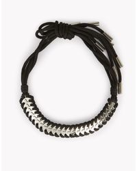 DSquared² - Black Metallic Coin Necklace - Lyst