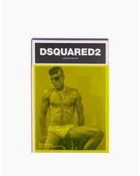 DSquared² - Black Briefs for Men - Lyst