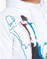 DSquared² - White Classic Raglan Fit Sweatshirt for Men - Lyst