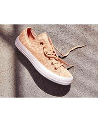 Converse - Pink Chuck Taylor All Star Shimmer Sneaker - Lyst