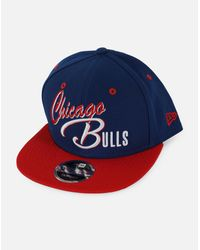 KTZ - Blue Nba Chicago Bulls Exclusive 9fifty Snapback Hat for Men - Lyst
