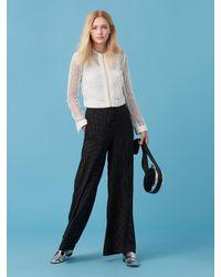 Diane von Furstenberg | White Chain Lace Jacket | Lyst