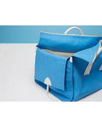 Diane von Furstenberg - Blue Weekender Canvas Handbag - Lyst