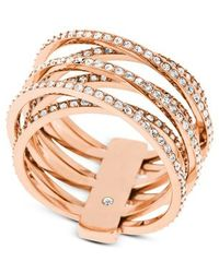 Michael Kors   Metallic Mkj4424791 Ladies Ring   Lyst