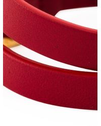 Valentino | Red 'l'amour' Bracelet | Lyst