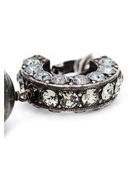 Lanvin | Black Tassel Earrings | Lyst