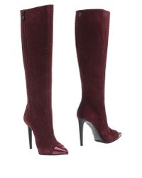 Fabi - Purple Boots - Lyst