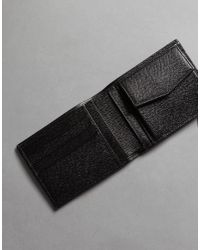 Dolce & Gabbana - Gray Leopard Textured Leather Wallet for Men - Lyst