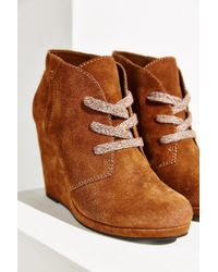 Dolce Vita - Brown Gael Wedge Ankle Boot - Lyst