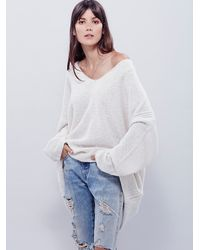 Free People - Natural Intimately Womens Cozy Time Cashmere Pullover - Lyst