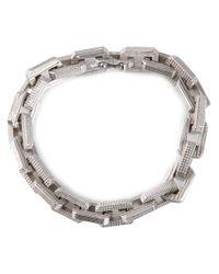 Eddie Borgo | Metallic Supra Link Bracelet | Lyst