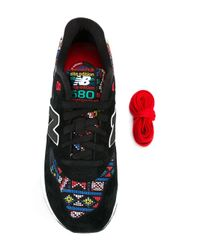 New Balance - Black '580 Elite Edition' Sneakers - Lyst