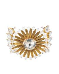 Tataborello - White Dione Plexi Crystal Cuff - Lyst
