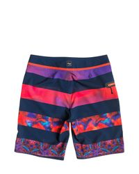"Quiksilver - Multicolor 20"" Ag47 Brigg Boardshorts for Men - Lyst"