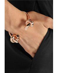 Jennifer Fisher - Metallic Double Knot Rose Gold-Plated Cuff - Lyst