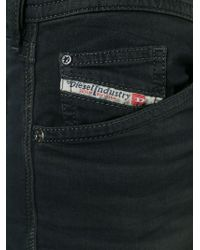 DIESEL - Black 'spender' Skinny Jeans for Men - Lyst