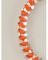 Paul Smith - Orange Double Beaded Bracelet for Men - Lyst