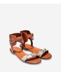 Cole Haan | Multicolor Barra Sandal | Lyst