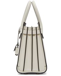 Saint Laurent | White Baby Sac De Jour Tote | Lyst