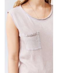 Cotton Citizen - Natural Marabella Muscle Tee - Lyst