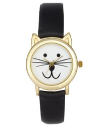 ASOS | Black Cat Ears Watch | Lyst