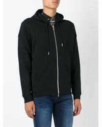 DIESEL | Black Zipped Hoodie for Men | Lyst