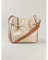 Chloé - Natural Emma Leather Shoulder Bag - Lyst
