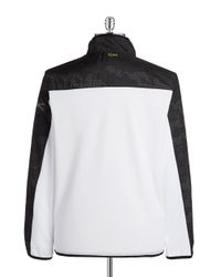 Calvin Klein | White Track Jacket for Men | Lyst