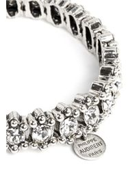 Philippe Audibert - Metallic Amelia Round Clear Crystal Bracelet - Lyst