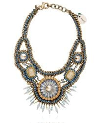 Sveva Collection | Green Elettra Necklace | Lyst