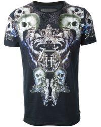 Philipp Plein - Black 'lil Monster' T-shirt for Men - Lyst