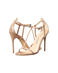 Chinese Laundry | Natural Leo T Strap Sandal | Lyst