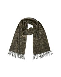Badgley Mischka | Black Metallic Speckle Oversize Scarf | Lyst