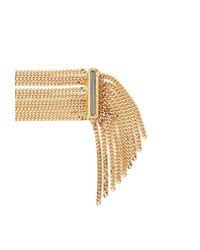 Forever 21 - Metallic Fringed Chain Bracelet - Lyst