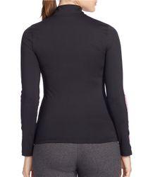 Lauren by Ralph Lauren | Black Plus Performance Jersey Pullover | Lyst