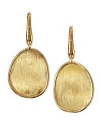 Marco Bicego | Metallic Lunaria 18k Gold Drop Earrings | Lyst