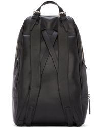 3.1 Phillip Lim - Black Leather 31 Hour Backpack for Men - Lyst