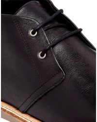 SELECTED - Black Homme Chukka Boots for Men - Lyst