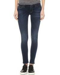 Hudson Jeans | Blue Krista Super Skinny Jeans | Lyst