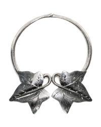 Alexander McQueen | Metallic Ivy Choker | Lyst