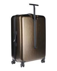 Calvin Klein - Metallic Wheeled Luggage - Lyst