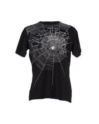 DIESEL - Black T-shirt for Men - Lyst