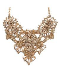 Deepa Gurnani | Metallic Addison Necklace | Lyst